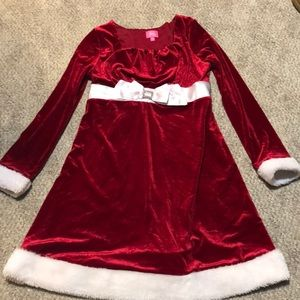 girls Christmas dress size 14